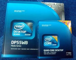Core i7 860 + DP55WB