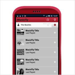 Android, MusicFly, アンドロイダー, Andronavi