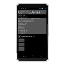 東京大学, 位置情報 環境音 収集,Androidアプリケーション