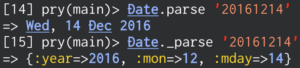 parse and _parse