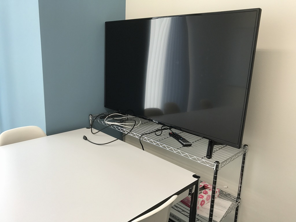 DMMの50インチテレビ1