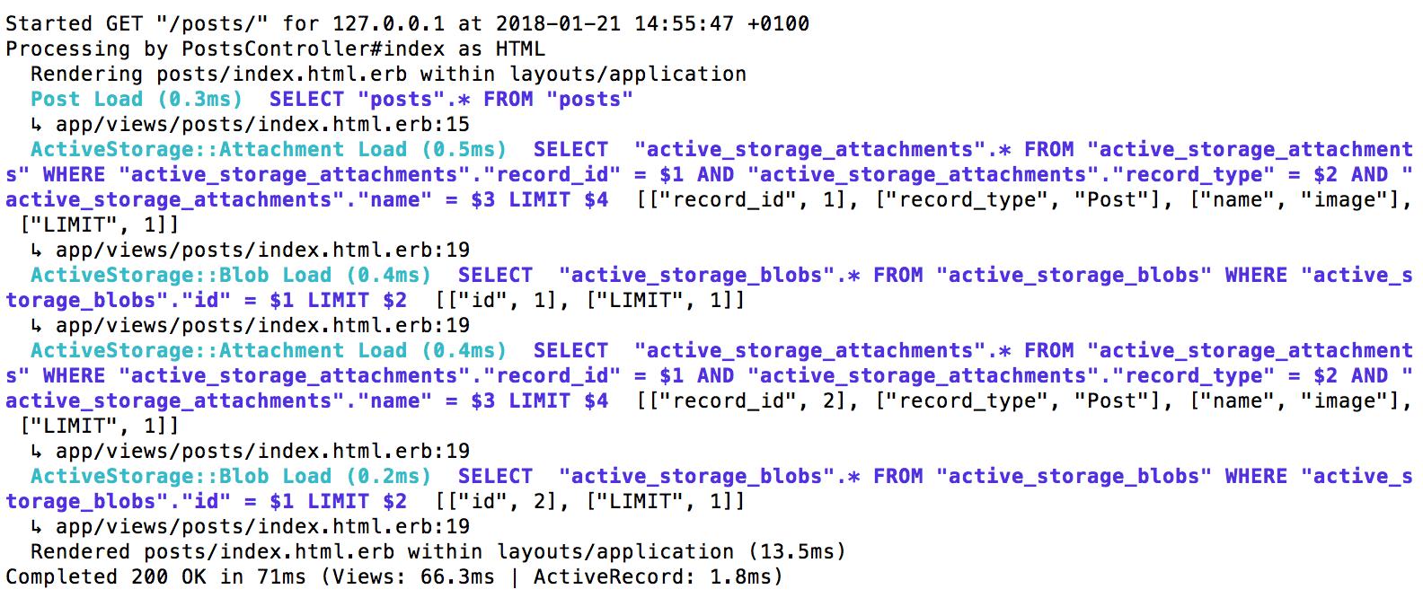 Active StorageのN+1クエリ