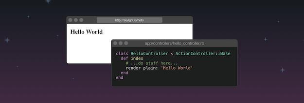 Example Rails controller code